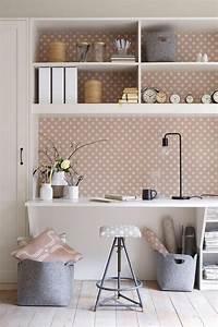 Papier Peint Bureau : am nagement d 39 un petit espace de travail le bureau style ~ Melissatoandfro.com Idées de Décoration