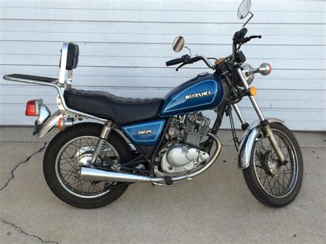 Suzuki Gn 125 For Sale suzuki gn 125 motorcycles for sale