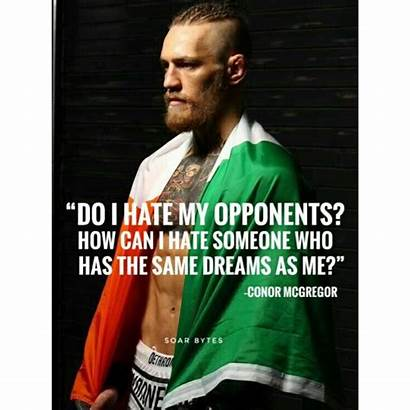 Quotes Mcgregor Conor Wisdom Notorious Boxer Poetry