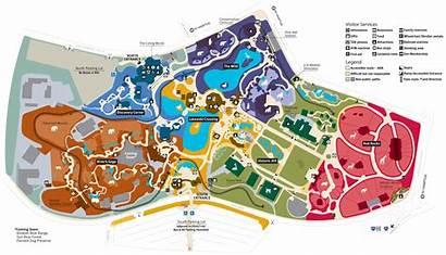 Zoo Map Louis Saint St Forest Park
