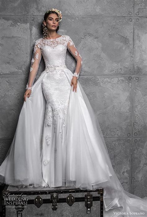 victoria soprano  wedding dresses chic royal