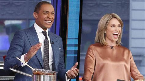 amy robach  tj holmes named  anchors  gma