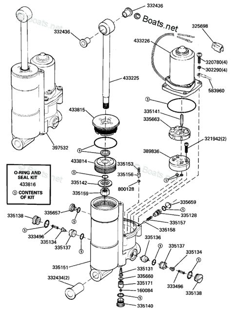 Johnson Outboard Parts Year Oem Diagram For