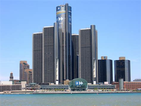 ford siege social file headquarters of gm in detroit jpg wikimedia commons
