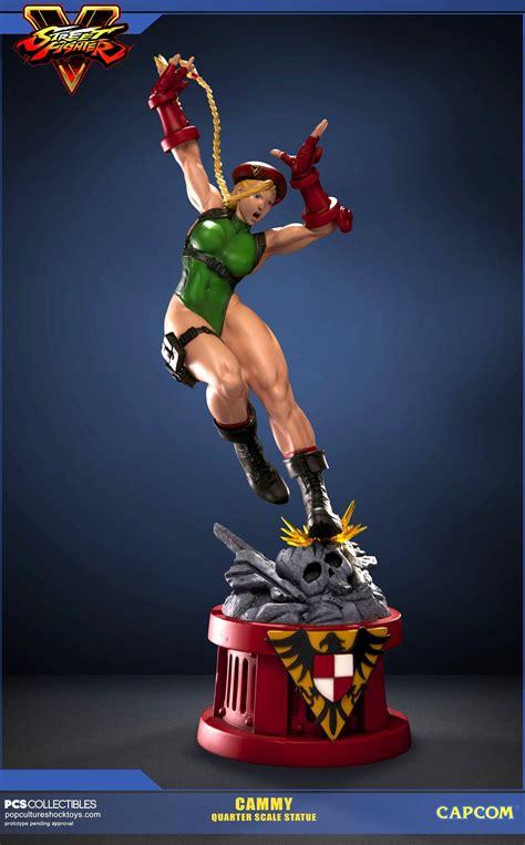 Street Fighter V Cammy Statue Gallery By Pcs The Toyark