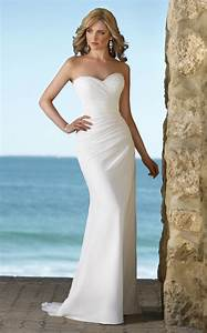exotic beach wedding dresses handmade elegant beach With classy beach wedding dresses