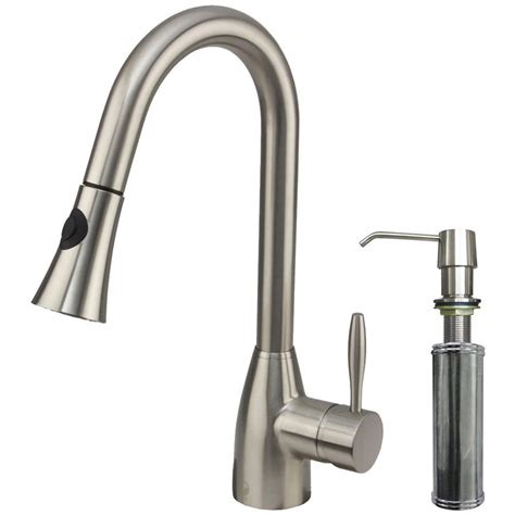 kitchen sink faucet sprayer vigo single handle pull out sprayer kitchen faucet with 5791