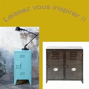 Petit Meuble Metal : meuble en m tal ~ Teatrodelosmanantiales.com Idées de Décoration