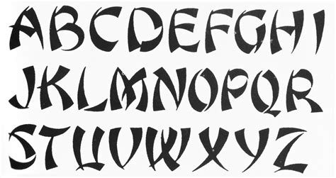 images for gt the alphabet in different fonts alphabets pinterest fonts writing fonts and