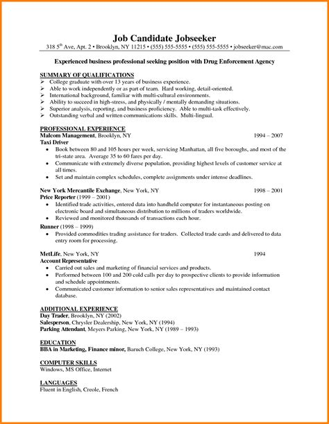 Listing Degrees On Resume by Associates Degree On Resume Exles Resume Format 2017
