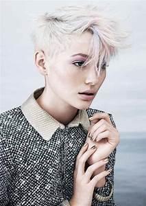Coiffure Blonde Courte : coiffure tres courte blonde millaulespiedssurterre ~ Melissatoandfro.com Idées de Décoration