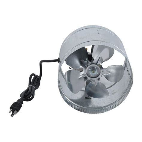 8 inch ventilation fan duct booster fan 8 inch 8 quot inline blower exhaust ducting