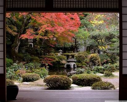 Japanese Traditional Garden Mobile Standard Wallpaperswide