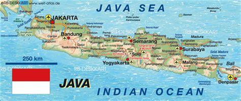 java indonesia map