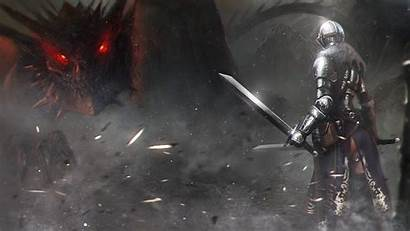 Knight Dragon Wallpapers Cool Astrid Slaying Male