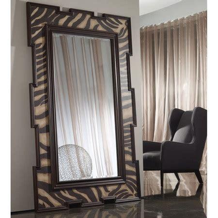 zebra floor mirror poplar wood floor mirror with an zebra print frame product floor mirrorconstruction