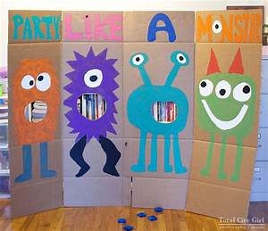 MonstAr Themed Party Ideas Total City Girl - The Blog