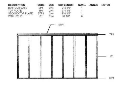 Shed Floor Plans 8x10 by 8 215 10 Lean To Shed Plans Blueprints For A Durable Slant