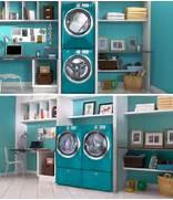 Minimalist Laundry Room Design Laundry Room Designs Elegant Blue Minimalist Modern Style Laundry