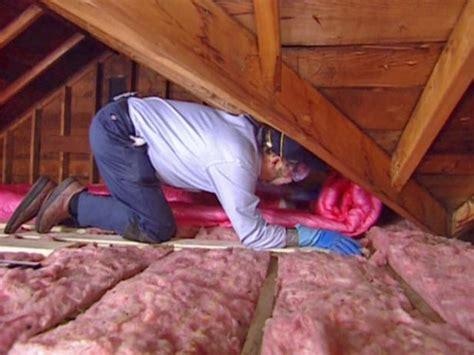 insulating attics roofs tos diy