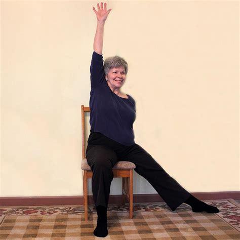 senior chair exercise pictures slideshow