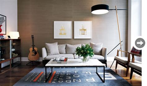 Grasscloth Living Room 2017