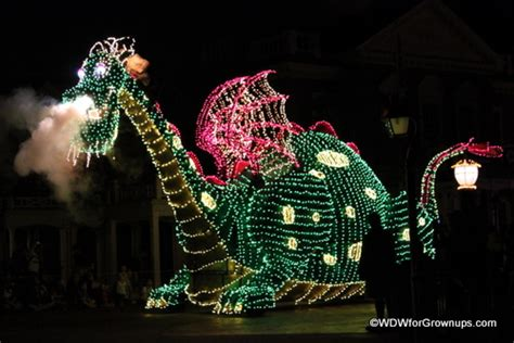 electric light parade the best places to a parade in magic kingdom