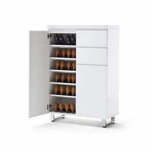 Grand Meuble A Chaussure : armoire chaussures grande capacite ~ Melissatoandfro.com Idées de Décoration