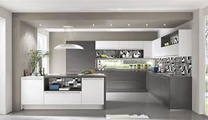 Moderne Küchen 2017 : moderne einbauk chen grau ~ Michelbontemps.com Haus und Dekorationen