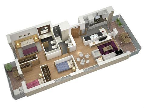 planos de casas en 3d para venta inmobiliaria estudibasic