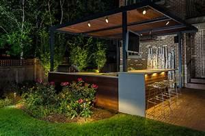 Elmhurst Contemporary Outdoor Family Friendly Landscape