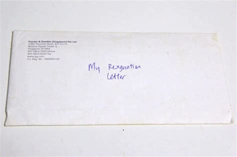 writing  letter  recommendation heading  envelope