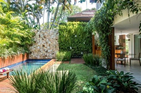 Sichtschutz Zaun Oder Gartenmauer  102 Ideen Für