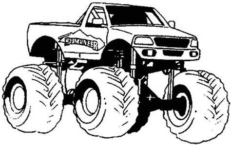 toy monster trucks videos coloriage voiture 4x4 a imprimer gratuit