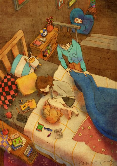 beautiful illustrations  show love   small