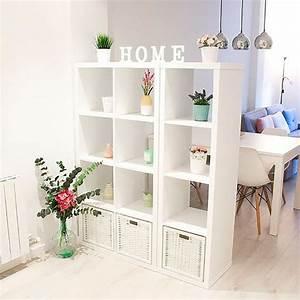 Créer une petite division avec les étagères IKEA! 20 idées