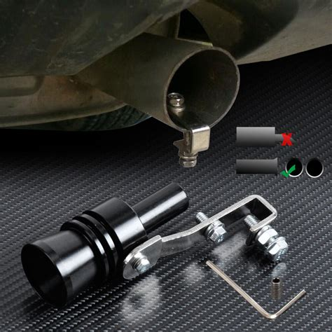Turbo Sound Simulator by Car Turbo Exhaust Sound Whistle Muffler Auto