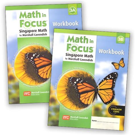 Math In Focus Grade 3 Workbook A And B Set (mif3wb) Details  Rainbow Resource Center, Inc