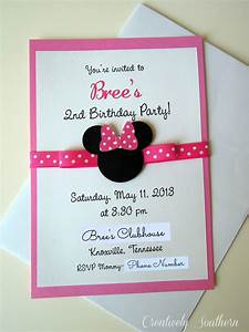 minnie mouse birthday and paper mache With paper mache wedding invitations