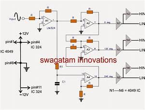 Three Phase Inverter Circuit