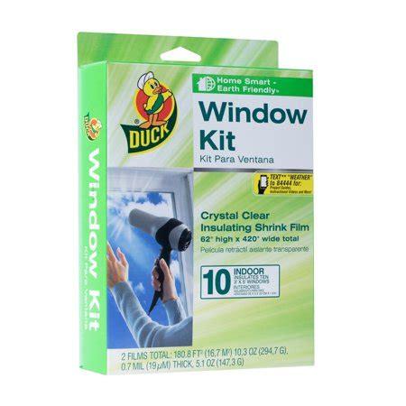 duck indoor window insulation kit insulates  windows
