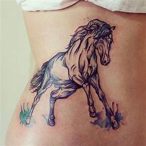 62+ Running Horse Tattoos Ideas