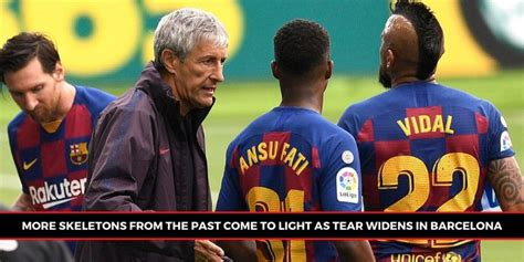 Barcelona players' fractured relationship with coaching ...