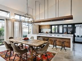 open concept kitchen ideas 15 open concept kitchens and living spaces with flow hgtv