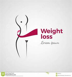 Weight loss concept stock vector. Image of illustration ...