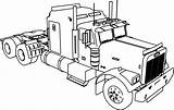 Camper Drawing Coloring Rv Pages Trailer Truck Getdrawings Amazing sketch template
