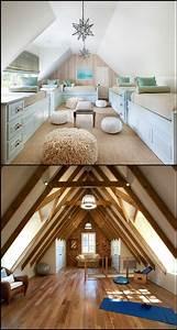 Beautiful, Attic, Design, Ideas