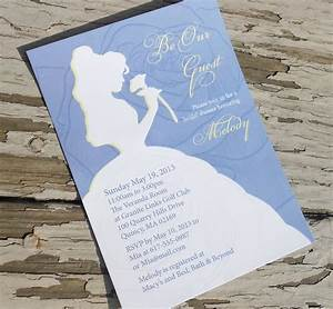 disney beauty and the beast belle bridal shower by With etsy beauty and the beast wedding invitations
