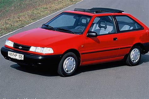 best hyundai pony hyundai pony x2 1991 car review honest