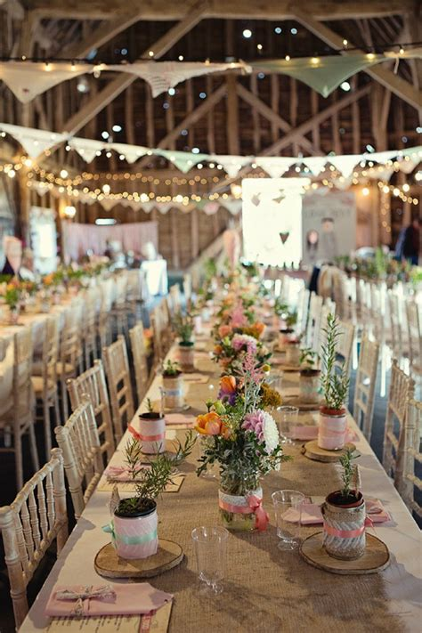 Wedding Reception Decorations by Shine On Your Wedding Day With These Breath Taking Rustic